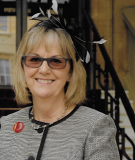 Sylvia Cheater MBE - President